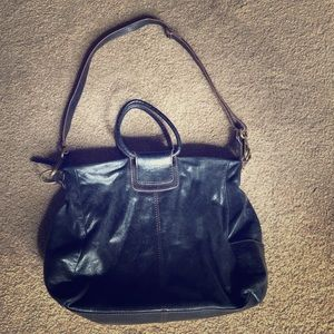 HOBO The Original Sheila Brown Leather Tote Purse